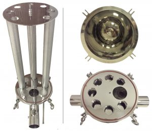 Low Pressure Stainless Steel Filters - Manifold Bowl and Elements